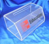 Personalizar plexiglás Acrílico Caja de donaciones