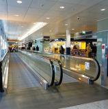 De Binnen Bewegende Gang van Volkslift in Luchthaven of Winkelcomplex