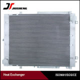 Réfrigérant à huile en aluminium d'excavatrice de plaque de barre de haute performance