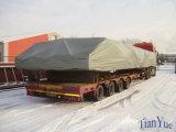 Encerado da tampa dos materiais da tela do PVC da barraca/caminhão