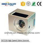 Do custo cabeça elevada do laser da fibra Sg7210 eficientemente com Ce/RoHS/ISO9001