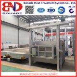 fornalha 90kw em forma de caixa de alta temperatura para o tratamento térmico