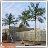 Decoración exterior de plástico árboles artificiales Palmera Cocotera