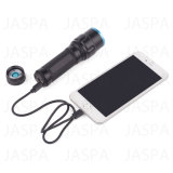 5W Aluminum LED Flashlight met Power Bank Function (16-1S1702)