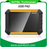 2016 Obdstar X300 Dp Pad Tablet Auto Key Programmer Odomètre Réglage Configuration complète Dp Pad X300 Key Programmer