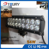 CREE Auto Parts foco LED Lámpara de conducción off road de barra de luces LED 54W