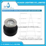 Iluminação Recessed subaquática da associação do diodo emissor de luz (base redonda de Base&Straight)