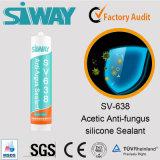 Colle acétique de silicones de puate d'étanchéité extérieure de silicones d'OEM