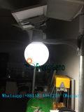 Preço do competidor para a luz de lua solar da lâmpada solar do jardim 15W