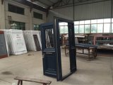 Het Ontwerp van de Deur van het Glas van het aluminium in Villa