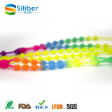 Silicone Necklace Wholesale / Food-Safe Baby Enjoy Bead Necklace