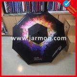 Doppio ombrello personalizzato pieghevole di golf del baldacchino