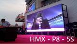 Pantalla de visualización a todo color al aire libre de LED P8 de HD para el funcionamiento y la publicidad de la etapa