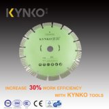 Het Blad van de Zaag van de Diamant van Kynko voor het Concrete Snijden van Stenen