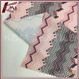 모자이크 패턴 인쇄 4 방법 신축성 직물