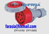 5p IP67 16A Conector industrial impermeável