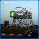 Afficheur LED extérieur polychrome d'intense luminosité de pH10mm pour la publicité