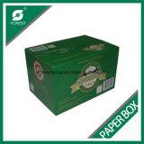 De golf Doos van het Karton van de Wijn van het Bier van de Fles van 24 Pak Verpakkende