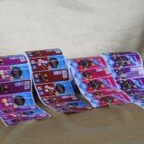 Высокое качество пользовательских клей печать раунда наклейка этикетки