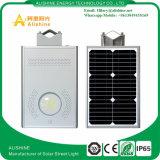 Rue 12W tout solaire de la batterie LiFePO4 dans une lumière de mur