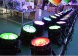 18PCS*10W RGBW Vier in met waterdichte LEIDEN van het Gezoem PARI kan OpenluchtGebruik aansteken