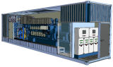 20kw - 3000kw無声発電機か防音のディーゼル発電機または発電所