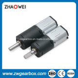 Mini 6V DC 39rpm Diámetro 12 mm PMDC Spur Gear Motor