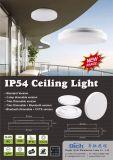 24W regulable CCT Cambiar GS CB CE aprobó la norma IP54 LED redonda de la luz de techo