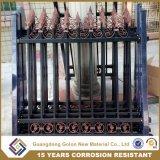직류 전기를 통한 말뚝 용접 담/장식적인 철 강철/금속 말뚝 울타리