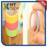 Cinta adhesiva del papel de Washi del color del arco iris