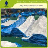 Le devoir d'une bâche en polyéthylène Poly bleu, bleu 100gsm Bâche de protection PE