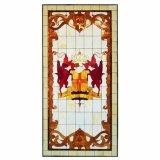 De populaire Patronen van het Mozaïek van de Kunst van de Vensters van de Kerk van het Gebrandschilderd glas van het Ontwerp van de Douane