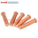 Parafusos de soldagem de cobre de alta qualidade