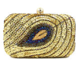 2017 Hot Snake Pattern Women Evening Bag Party Clutch Handbag Eb854