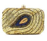 최신 뱀 패턴 여자 이브닝 백 당 클러치 핸드백 Eb854
