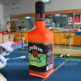 Grande bouteille gonflable de boissons d'énergie pour la promotion extérieure