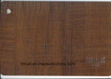 Folha de Art Deco de PVC de grãos de madeira para mobiliário/Gabinete/Porta laminado a quente/membrana de vácuo Pressione Bgl055-060