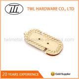 Conception personnalisée Handbag décoratifs en métal du matériel de verrouillage