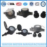 Multi тип пластичный счетчик воды двигателя сухой тела