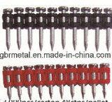 Pin à ongles en béton assemblé par gaz plastique