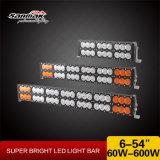 """11.5 """" barres tous terrains d'éclairage LED de double rangée à haute production de 120W IP68"""