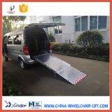 ローディング350kgを用いるヴァンのための手動車椅子の導板