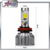 Multi bulbos do farol do diodo emissor de luz do RGB da cor por Bluetooth Controle para carros da motocicleta do jipe