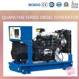 8kVA diesel die Generator door Chinese Motor Quanchai wordt aangedreven