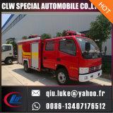 4*2水および泡の消火活動のトラック