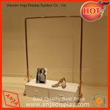 소매점 금속 의복 전시 가로장 의류 선반