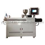 Banco de laboratorio extrusionadora de husillo doble mini máquina de rallar Pet