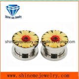 Body Jewelry Stainless Steel Glue Ear Expander