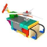 1488728-2 1 Fernsteuerungs-RC den Blöcken in des Transport-Flugzeug-Hubschrauber-Block-Installationssatz-Ausbildungs-kreatives Spielzeug einstellen - die gelegentliche Farbe