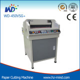 El corte de papel de la máquina wd-450vsg +